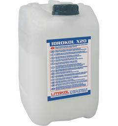 Добавка в цемент Литокол - Эластичная латексная добавка Idrokol X20