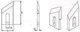 Ножи шипорезные длиной от 60 мм до 410 мм