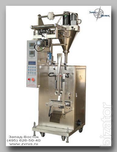 Фасовочно-упаковочные автоматы DXDF для пылящих (порошкообразных) продуктов - DX