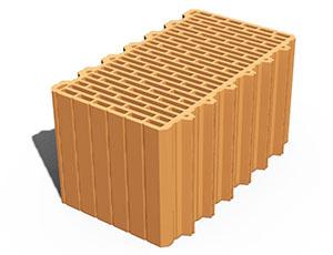 Блоки керамические Leier - Блок керамический Leier 450х250х238 мм