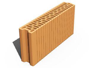Блоки керамические Leier - Блок керамический Leier 100х500х238 мм