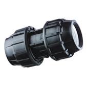 Фитинги компрессионные для наружного полиэтиленового водопровода - Муфта компрес
