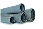 Труба ПВХ для канализации - Труба ПВХ для внутренней канализации д.50 мм