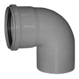 Фитинги полипропиленовые для канализации - Колено ПП (отвод) для внутренней кана