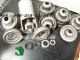 Конвейерные ролики с 4-х элементными лабиринтными уплотнениями.