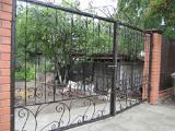 Забор из профнастила - Ворота