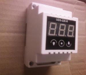 Регулятор влажности, влагомер, гигрометр - Регулятор влажности UDS-220.R VL выно