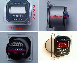 Счетчики импульсов - Cчетчик импульсов UDS-12.R С(-0) до 9999 значений с автомат