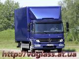 Автостекло триплекс, лобовое стекло для грузовиков Mercedes Atego
