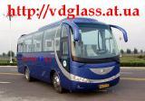 Автостекло триплекс, лобовое стекло для автобусовYutong 6831 (Автобус 30-местный