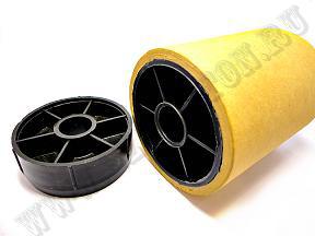 Колпачки для картонных втулок - Пробка для картонной тубы d 76 мм