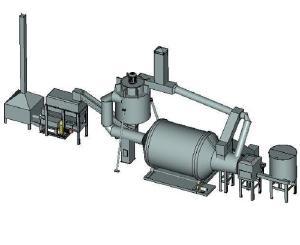 Линии гранулирования соломы в энергоефективное чистое топливо - Линия брикетиров