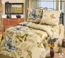 Постельное бельё - Комплект постельного белья 2-х спальный бязь набивная пл.120-