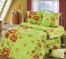 Комплекты постельного белья - Комплект постельного белья семейный поликоттон «Ми