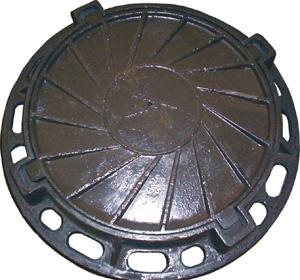 Железобетонные изделия - Люк канализационный чугунный тип Л и Т, ГТС, ТМ, Е600,