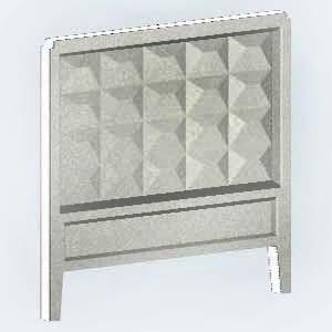 Железобетонные изделия - Плита забора ЗП 400-2; ЗП400-8-(2,5х4,0м); П-6Ва-(2,2х4