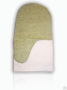 Рукавицы рабочие - Рукавицы х/б с брезентовыми накладками ГОСТ 12.4.010-75 тип В