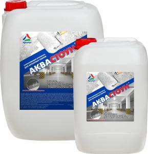 Полиуретановые наливные полы - Аквастоун - пропитка для бетонных полов на водной