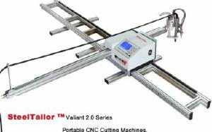 Переносная установка для плазменной резки металла с чпу SteelTailor Серия Valian