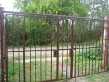 Откатные ворота - Кованные ворота