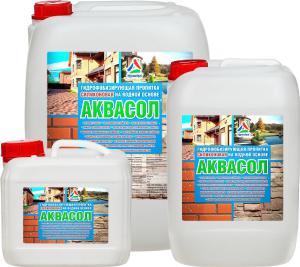 Эпоксидные наливные полы - Аквасол - пропитка гидрофобизирующая для камня и бето