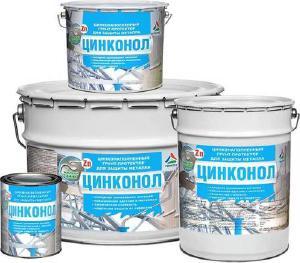 Спецгрунтовки - Цинконол - грунт полиуретановый цинконаполненный
