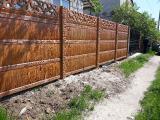 Бетонное ограждение - Бетонный забор