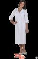 Медицинские халаты - Халат медицинский женский 6