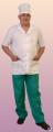 одежда рабочая - Костюм медицинский мужской классический