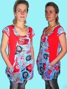 одежда - Туника женская кулирка