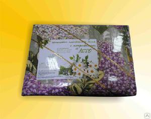 """Домашний текстиль 2 - Комплект постельного белья """"Лето"""" со стеганым покрывалом"""