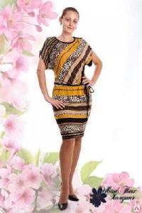 Платья-3 - Платье женское артикул 113053 (Трикотаж)