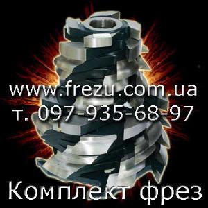 Фрезы по дереву для мебельных фасадов - Набор инструмента для производства мебел