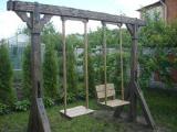 Садовая мебель из дерева - Садовые качели