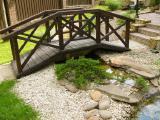 Садовая мебель из дерева - Садовый мостик