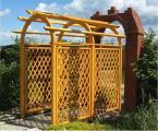 Садовая мебель из дерева - Садовые перголы