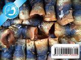 Рыба горячего копчения 01 - Сельдь филе (рулеты) горячего копчения