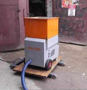 Выдувная установка МН-500 для утепления эковатой