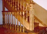 Лестницы - Деревянные лестницы из дуба