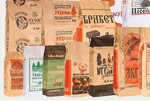 Бумажные мешки (крафт мешки) - Бумажные мешки (крафт-мешки) под древесный уголь