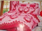 Товары 2 - Комплект постельного белья Семейный из полиэстера
