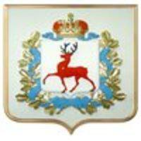 Символика, гербы, флаги 2 - Герб Нижегородской области 42х50см