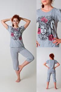 Товары - Пижама женская с бриджами, модель П-9