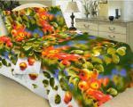Домашний текстиль 4 - Комплект постельного белья 1,5-сп, бязь премиум «Яблоко»