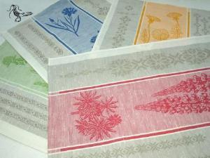 Домашний текстиль из льна - Льняное полотенце подарочный набор для кухни 50x70 -