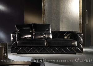 Итальянские диваны - Диван кожаный CAROL
