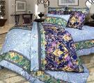 Постельное белье - Комплект постельного белья 2-сп. с европростыней, бязь пл.125