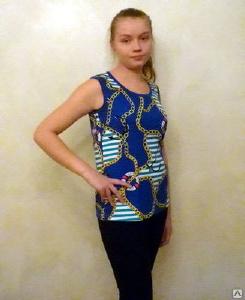 Одежда женская - Майка женская, кулирка