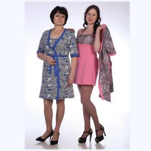Женская трикотажная одежда - Ночной комплект НК-21 (р.42-56)