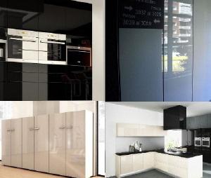 Мебельные материалы - Материал LUXE (Черный/Белый/Крем)
